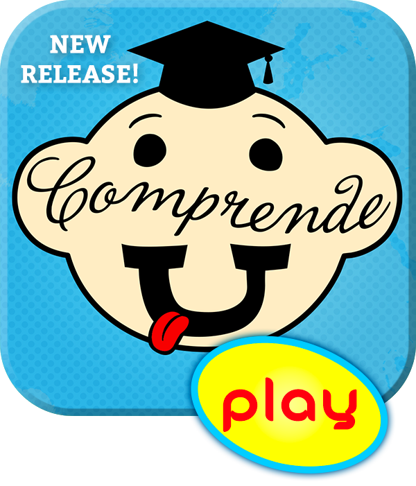 Comprende-U, the all-new twist on trivia with an Old World flair - fun with French, German, Italian or Spanish.