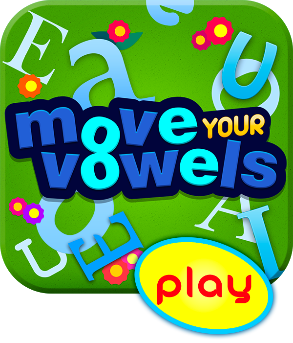 Play Move Your Vowels your Mobile device - 20 free preloaded games