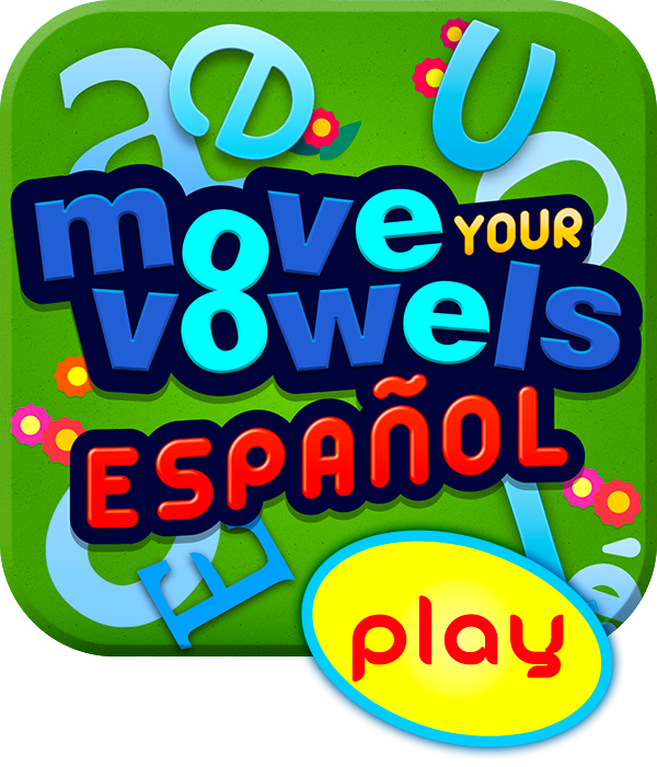 Move Your Vowels - 20 juegos precargados - 20 Free preloaded games for Mobile