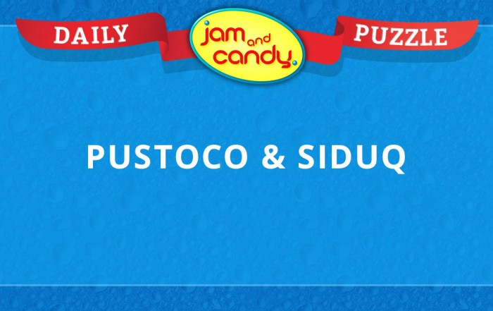 Jam and Candy Puzzle 121417
